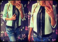 Модный женский пиджак