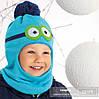 Шапка-шлем зимняя для мальчика (Польша)