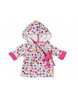 Халат для куклы 43 см Baby Born Zapf Creation 822463