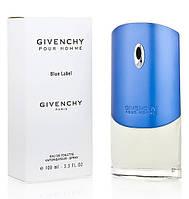 Givenchy Blue Label туалетная вода 100 ml. (Тестер Живанши Блу Лейбл)