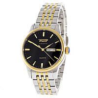 Мужские часы TISSOT - Visodate, сапфировое стекло, двуцветный