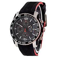 Мужские часы TISSOT - SPORT PRS 516, хронограф, сапфировое стекло, нержавейка, секундомер