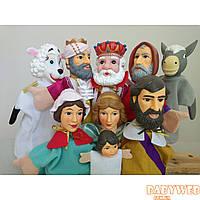 "Кукольный театр ""Буратино"" (7 кукол) + большая ширма"