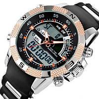 Кварцевые мужские часы Weide Aqua Gold
