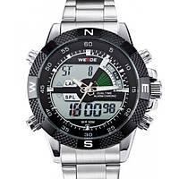 Кварцевые мужские часы Weide Aqua Steel