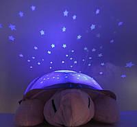 Детская  черепашка ночник, звездное небо