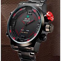 Кварцевые мужские часы Weide Sport Red