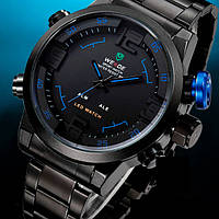 Кварцевые мужские часы Weide Sport Blue