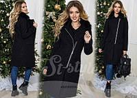 Стильное женское пальто из кашемира ST-Style
