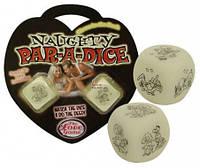 Игровые кубики Naughty Par-A-Dice