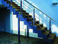 Лестницы металлические на тетивах