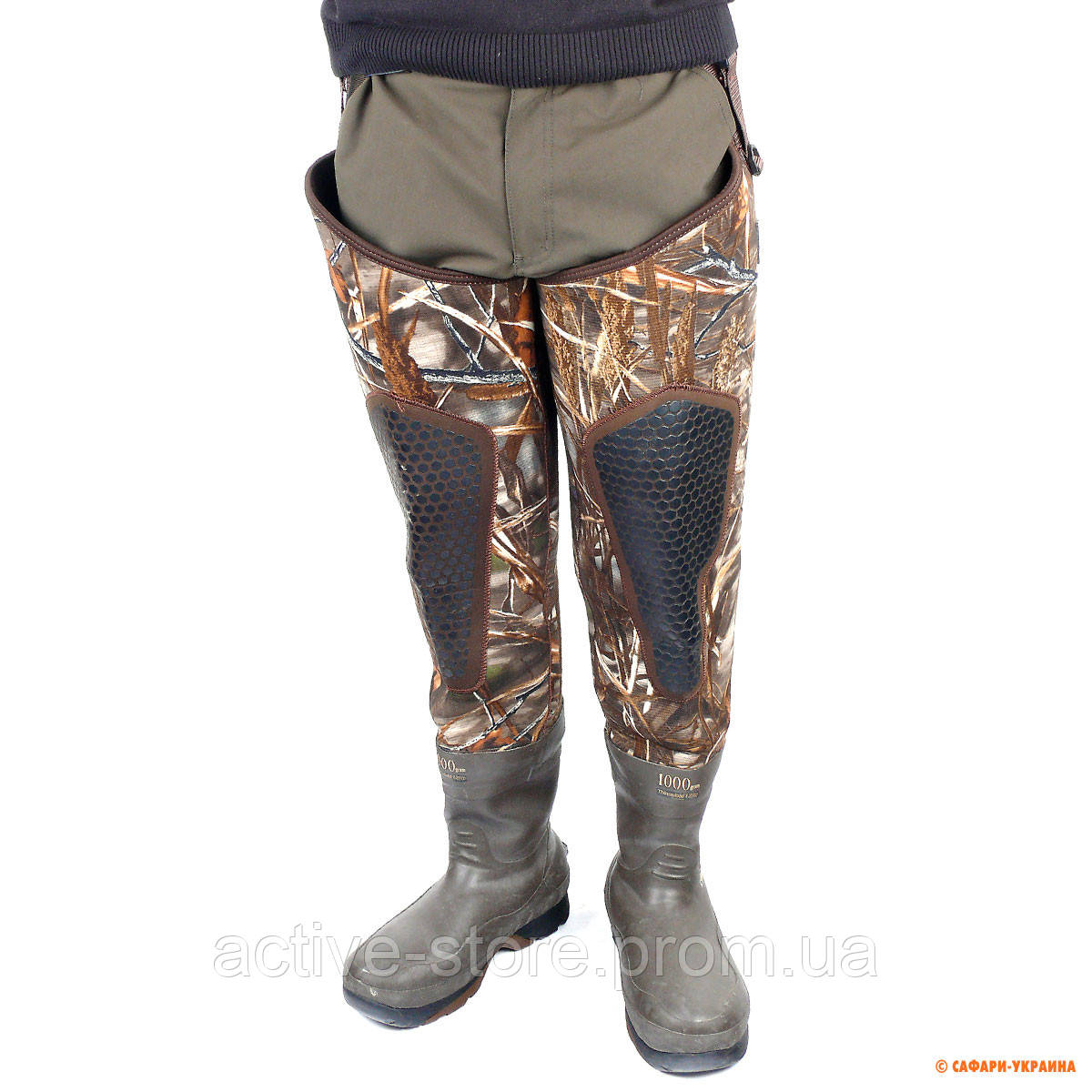 Заброды для охоты и рыбалки зимние Rocky Hip Boot, камуфлированные, высота  81 см - 35cb0694921