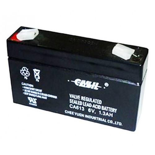 Аккумулятор Свинцово-кислотный Батарея CASIL CA613 1.3Ah, 6V