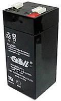 Аккумулятор Свинцово-кислотный Батарея CASIL CA445 4.5Ah, 4V