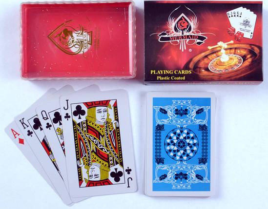 Карты игральные пластиковые Casino №839-3, фото 2