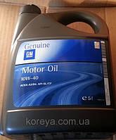 Масло полусинтетика 10w40 GM.масло полусинтетическое GM купить 93165216.