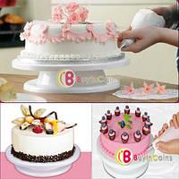 Подставка для торта вращающаяся средняя