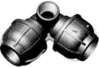 """Колено с боковой резьбой 32х3/4"""" вр"""