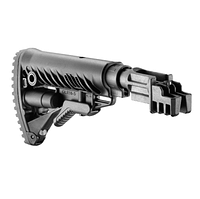 Телескопический приклад с амортизатором FAB Defence для AK-47, со встроенным буфером отдачи