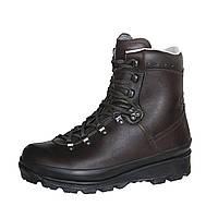 Кожаные ботинки для туризма и охоты Volkl Wildjager, коричневые, высота 15 см