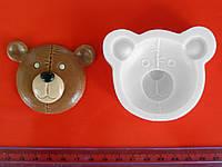 Силиконовый молд Голова мишки