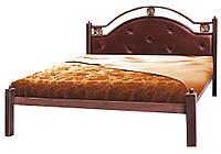 """Металлическая двуспальная кровать """"Эсмеральда"""" Металл-Дизайн"""