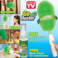 Вращающаяся щетка для удаления пыли Go Duster