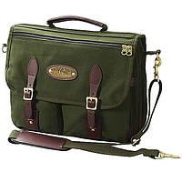 Сумка охотничья Boyt Briefcase, 43 х 30 х 13 см, зелёная, брезент
