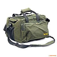 Сумка охотника Allen Deluxe Shooters Bag, зелёная, 30 х 20 х 20 см