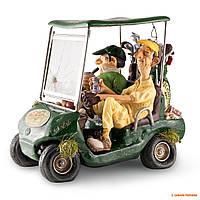 Сувенир ручной работы Forchino Golf Cart (Гольф-кар), цвет: зелёный, 15 х 20 х 18 см