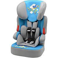 Детское автокресло Bertoni X-DRIVE PLUS GREY&BLUE SKY ADVENTURE