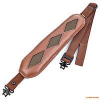 Ремень оружейный с антабками 2,54см Allen Slings, коричневый