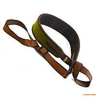 Ремень для ружья без антабок Niggeloh, неопреновый, цвет: Оливковый