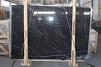 Toros Black. Черный мрамор, фото 1