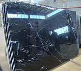 Toros Black. Черный мрамор, фото 3