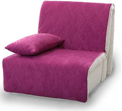 Кресло Акварель 0,9  с подушкой фиолетовый купить