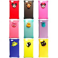 Чехол резиновый Disney подушка iPhone 6/6s