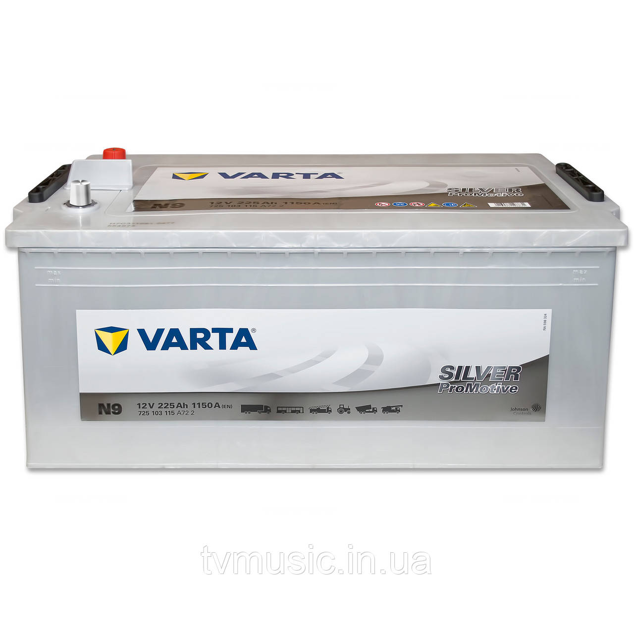 Грузовой аккумулятор Varta Promotive Silver N9 225Ah 12V (725 103 115)
