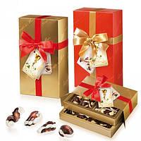 Шоколадные конфеты в подарочной коробке с бантом Frutti Di Mare (Бельгийский шоколад) 180г
