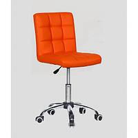 Кресло парихмахерское HC1015K оранжевый