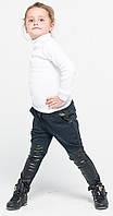 Лосины ботфорты для девочек джинс с матрицей
