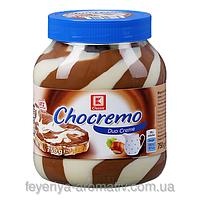 Шоколадний крем (паста) Chocremo c горіхом Німеччина 750г