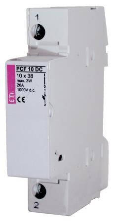 Разъединитель PCF DC 1P 25A 1000V (2550201)