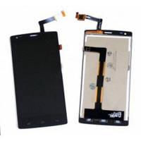 Дисплей (LCD) Fly iQ4505 Quad ERA Life 7 с сенсором черный