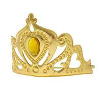 Корона  карнавальная королевы, принцессы золотистая