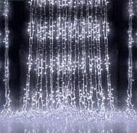 Новогодняя Гирлянда-Водопад на 300 светодиодов 3*1м. устройте себе  и  своим  близким  незабываемый праздник