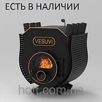 Печь калориферная «Vesuvi» «01» с варочной поверхностью и стекло или перфорация