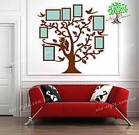 Фоторамки из дерева, декор интерьера