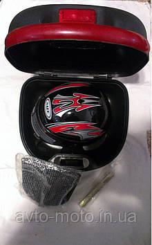 Кофр с шлемом внутри