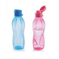 Эко-бутылка 500 мл с петелькой и клапаном